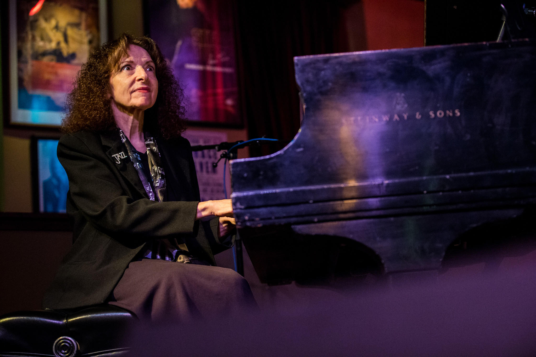 Chicago singer-pianist Judy Roberts at the Jazz Showcase.