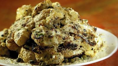 The Wallace's grilled cauliflower
