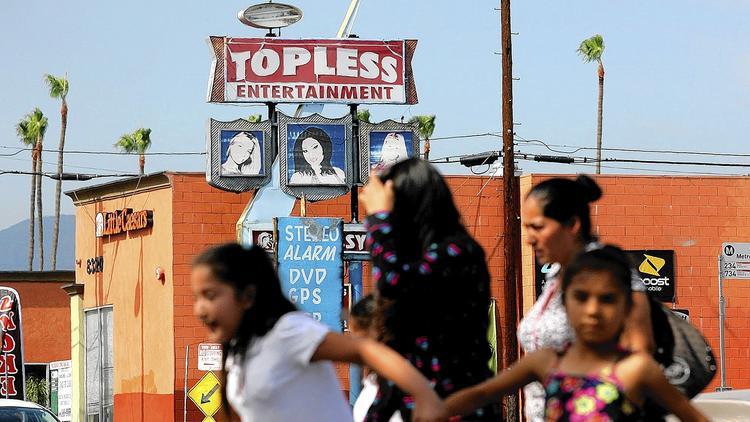 Sex trade in the San Fernando Valley