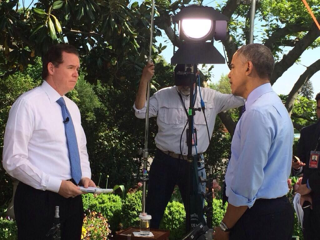 WTVJ chief meteorologist John Morales was invited to the White House on May 6 to speak with President Barack Obama about climate change. Morales was the only Florida meteorologist invited.