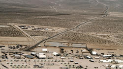 Twentynine Palms Marine combat training base
