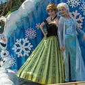 "Disney Festival of Fantasy Parade: The Princess Garden ""Frozen"""