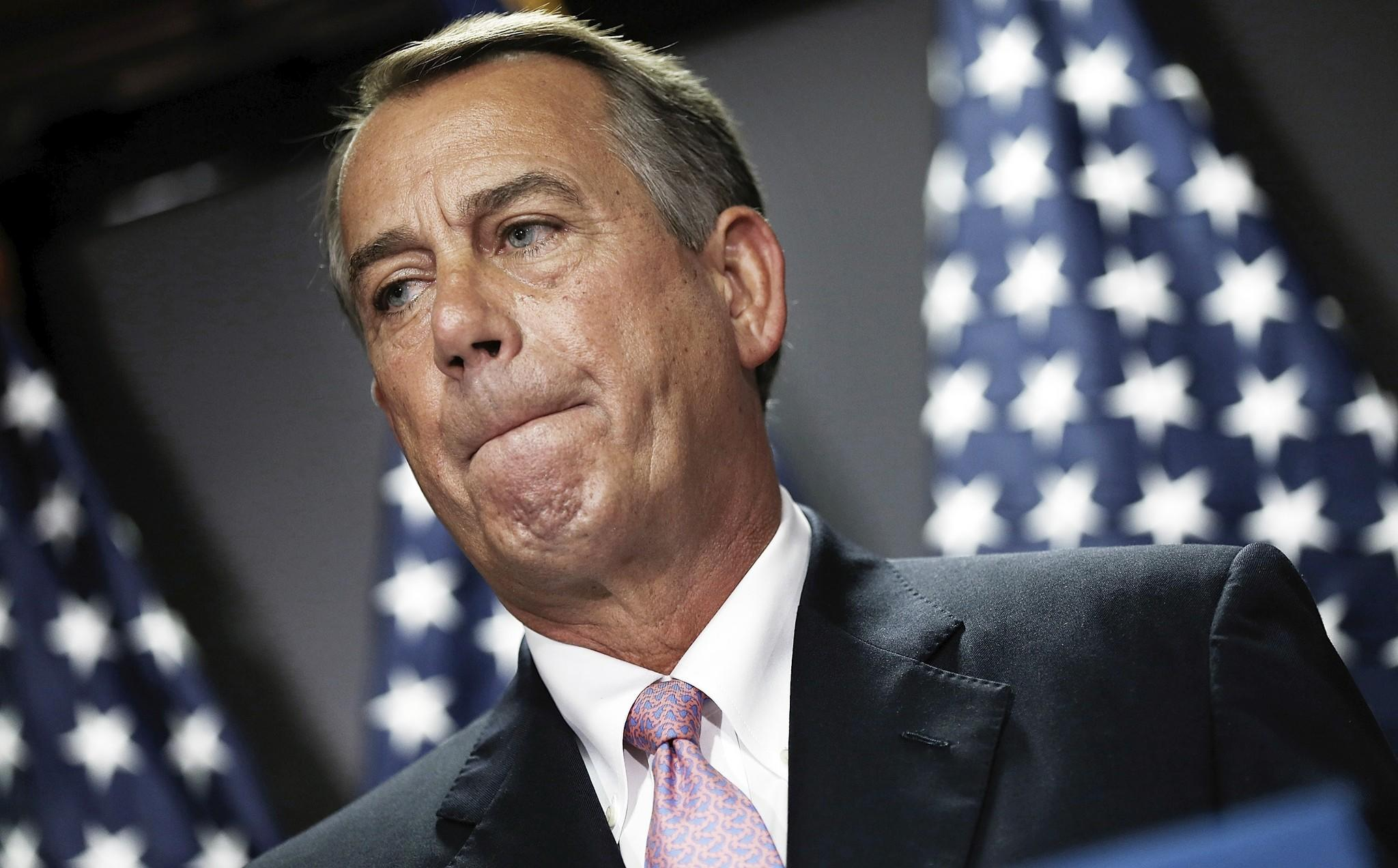 House Speaker John Boehner (agreed to form a select committee to further investigate the Benghazi controversy.