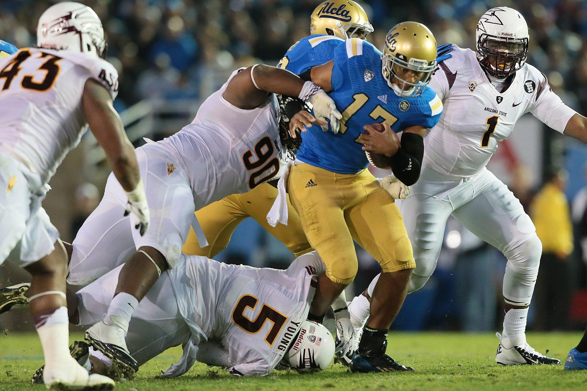 Bears choose Arizona State's Will Sutton (90) with their third-round draft pick.