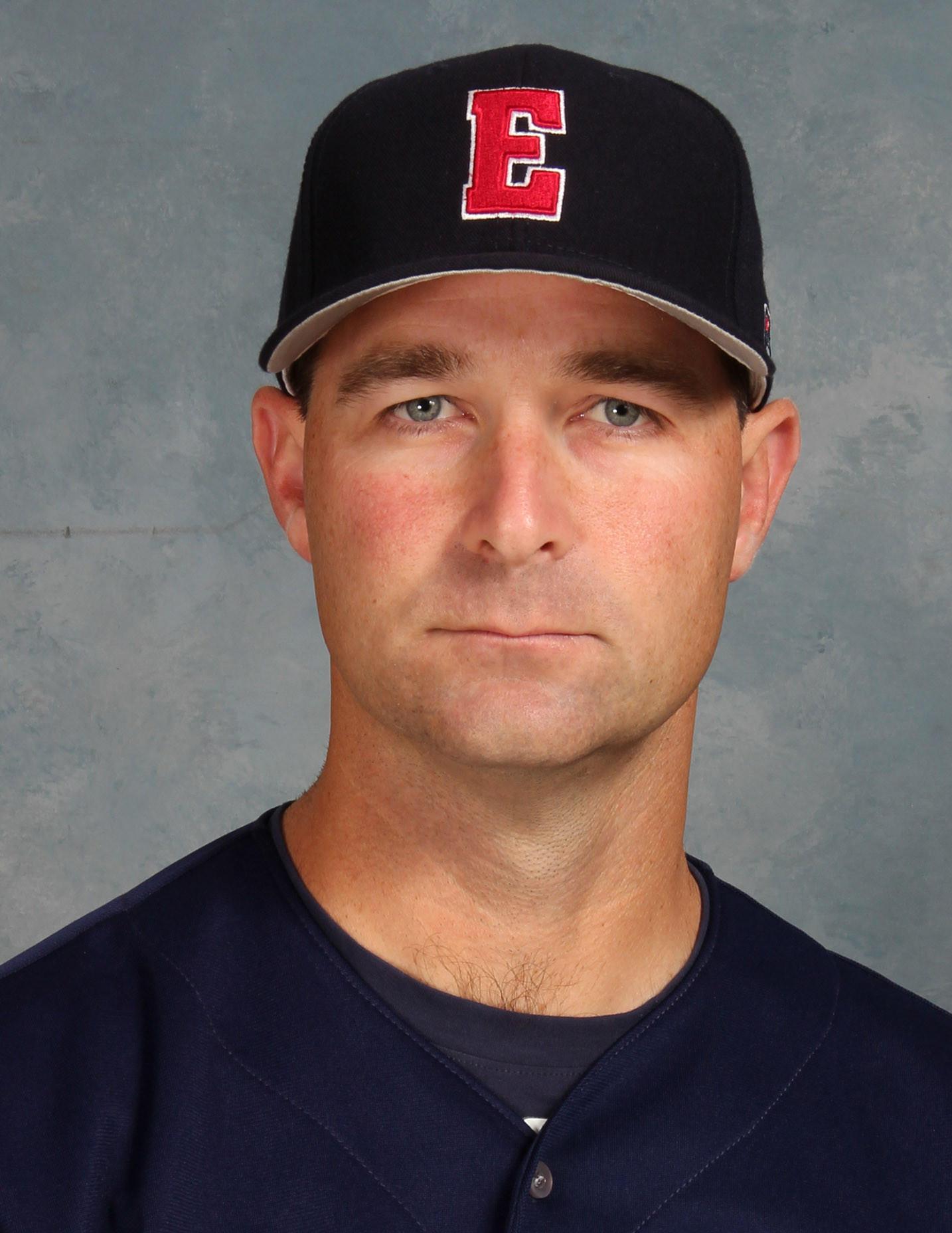 Eastern Connecticut State University baseball coach Matt LaBranche.