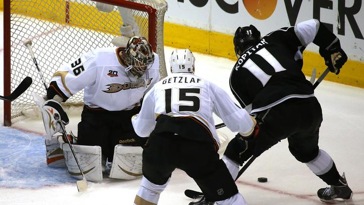 Kings Will Try To Rattle Ducks' John Gibson In Game 5