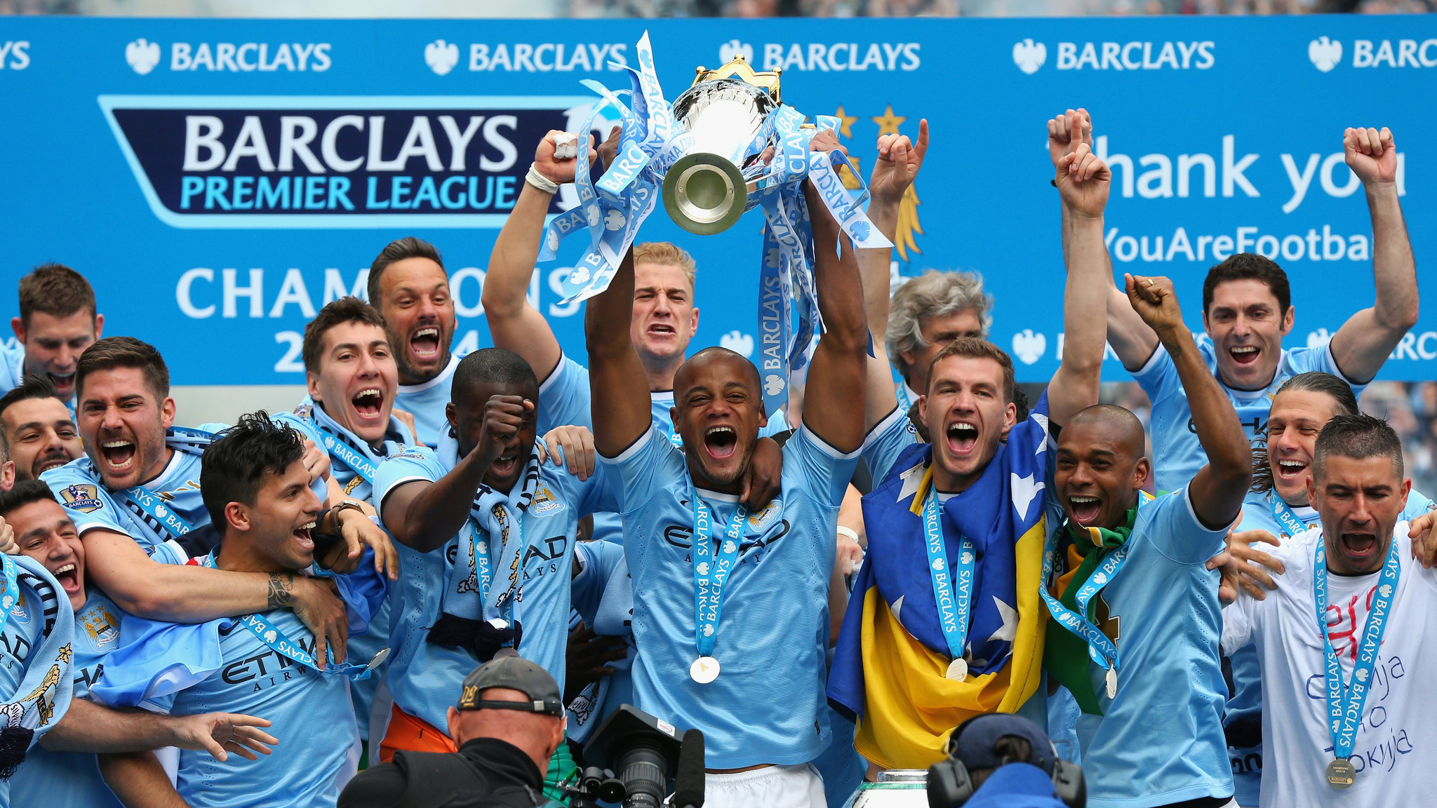 Man City Wins Championship - LA Times