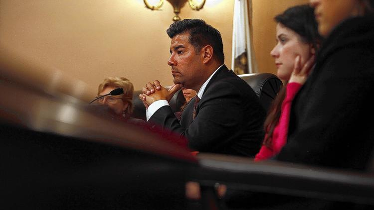 State Sen. Ricardo Lara has proposed a bill narrowing the number of exemptions religious universities would receive to anti-discrimination laws, drawing concern from dozens of colleges in California. (Katie Falkenberg / Los Angeles Times)