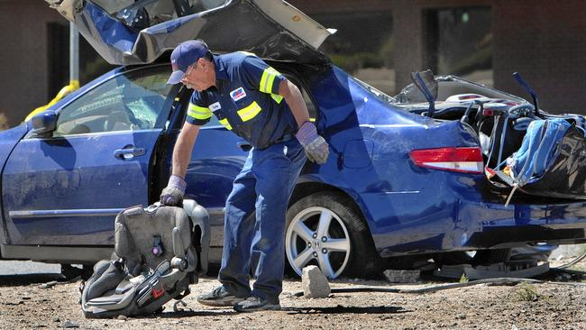 Fatal Car Accident Victims Bodies