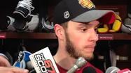 Video: Toews after scoring Hawks' go-ahead goal