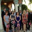 The newest Tocqueville Society members were introduced at the award celebration.