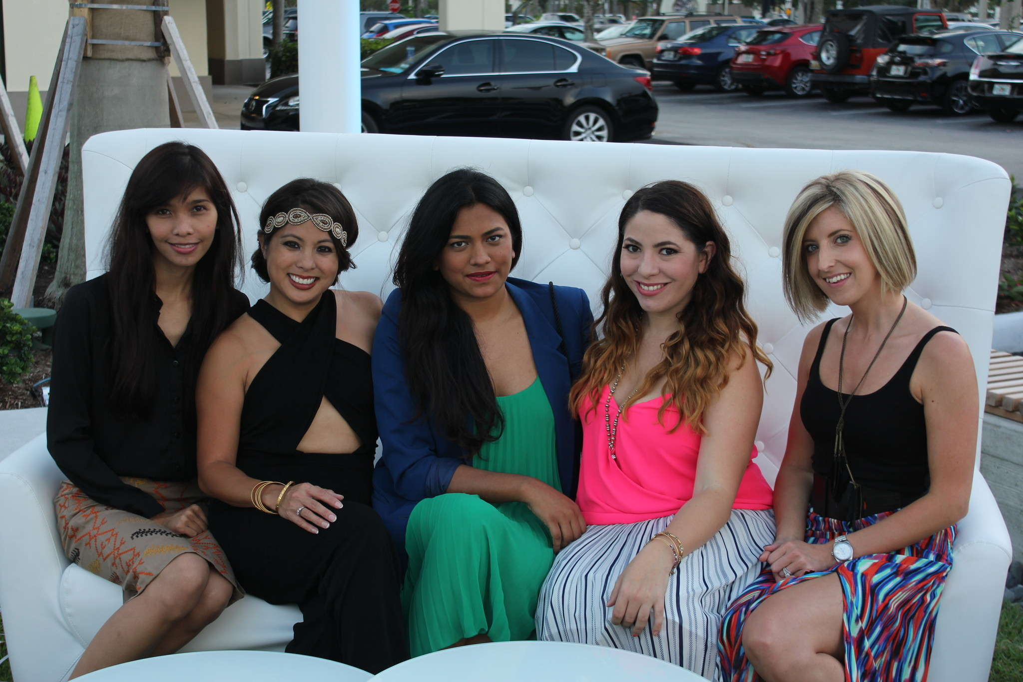 Society Scene photos - Poise Ziegler, Aileen Van Pelt, Afroza Khan, April Erhard and Becca Portor