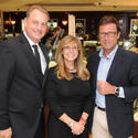 Ed Dikes & Tracey Dikes, Co-Owners of Weston Jewelers with Alberto Festa, President of Bulgari