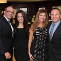 Raciel Badell, Beverly Valladar and Jacquie Sullivan from Weston Jewelers with Greg Weeter from Bulgari