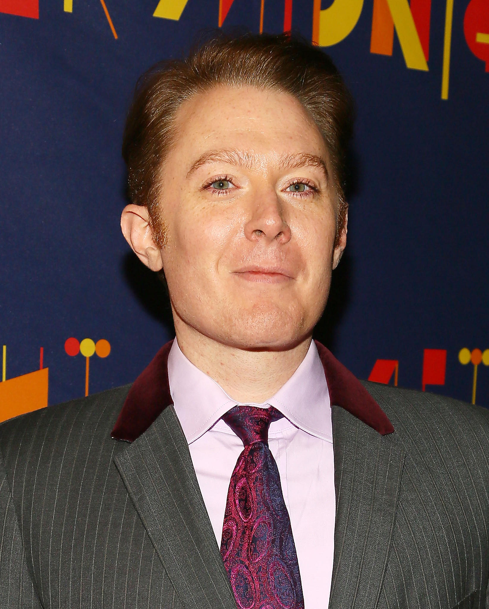 "Singer Clay Aiken attends ""After Midnight"" broadway opening night at Brooks Atkinson Theatre in New York."