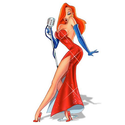 Jessica Rabbit from Who Framed Roger Rabbit