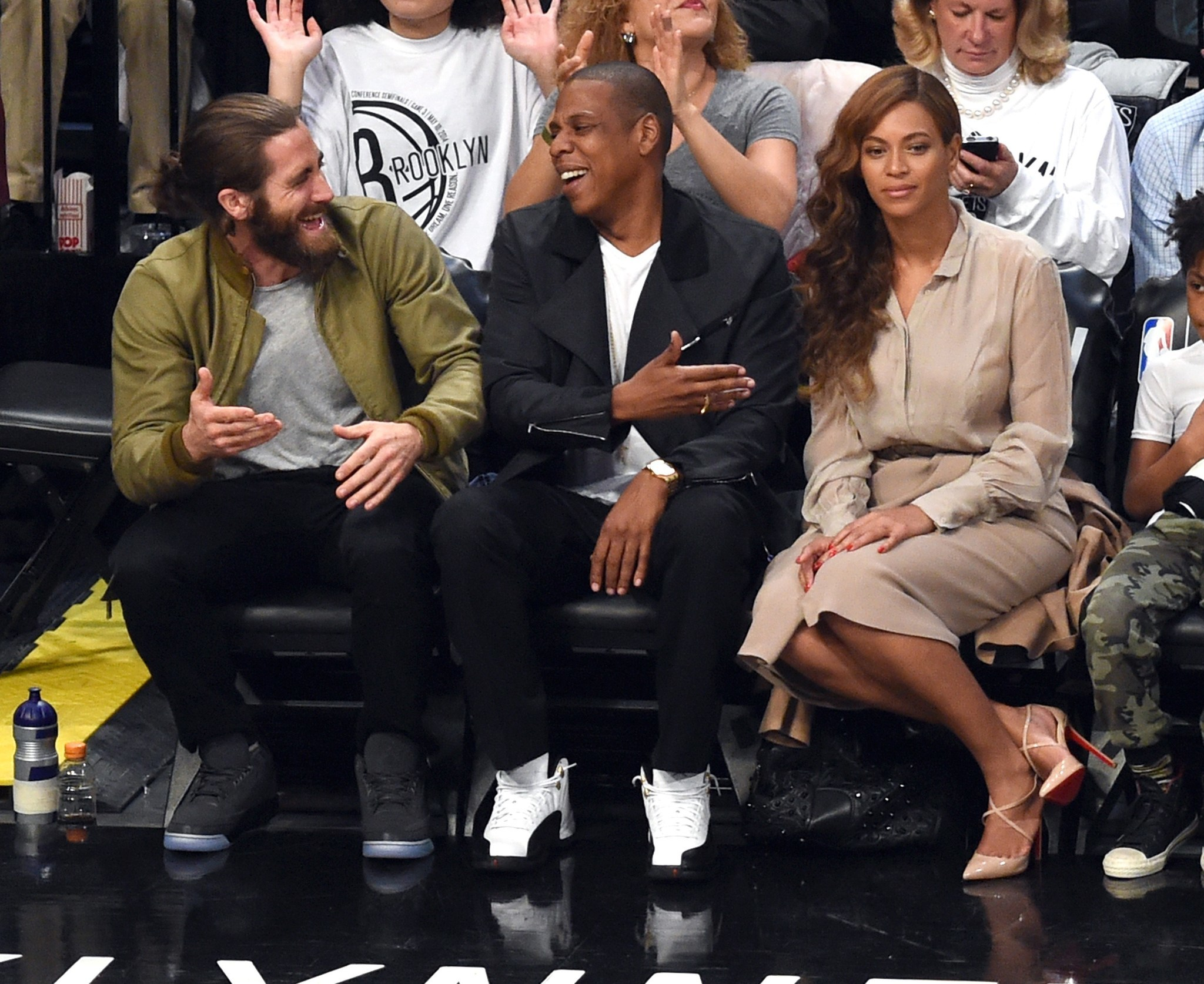 Celebs spotted at Miami Heat games - Jake Gyllenhaal, Jay Z and Beyonce