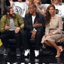 Jake Gyllenhaal, Jay Z and Beyonce