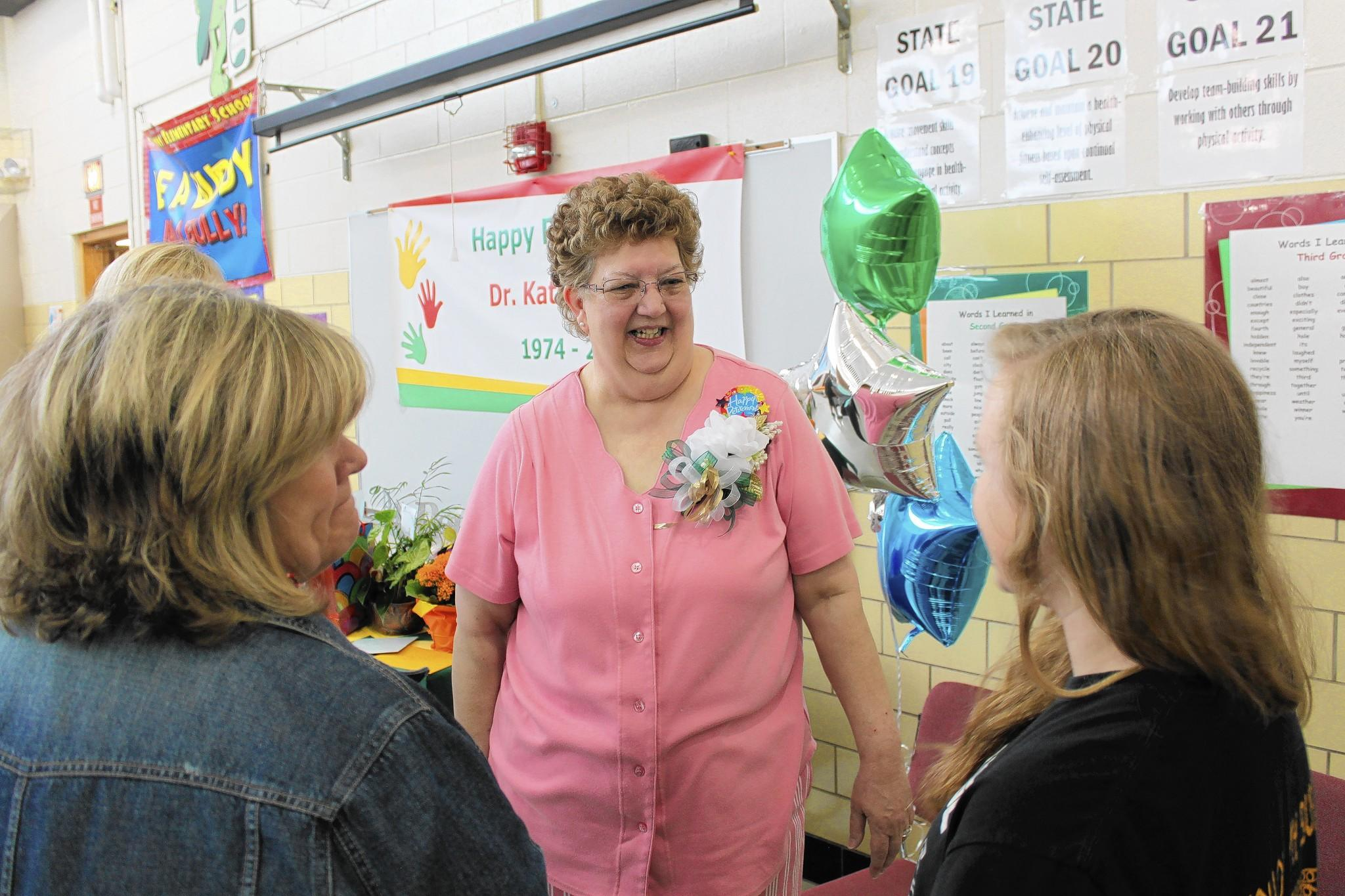 Kathy Baxter will retire after 40 years at Crystal Lawns Elementary School.