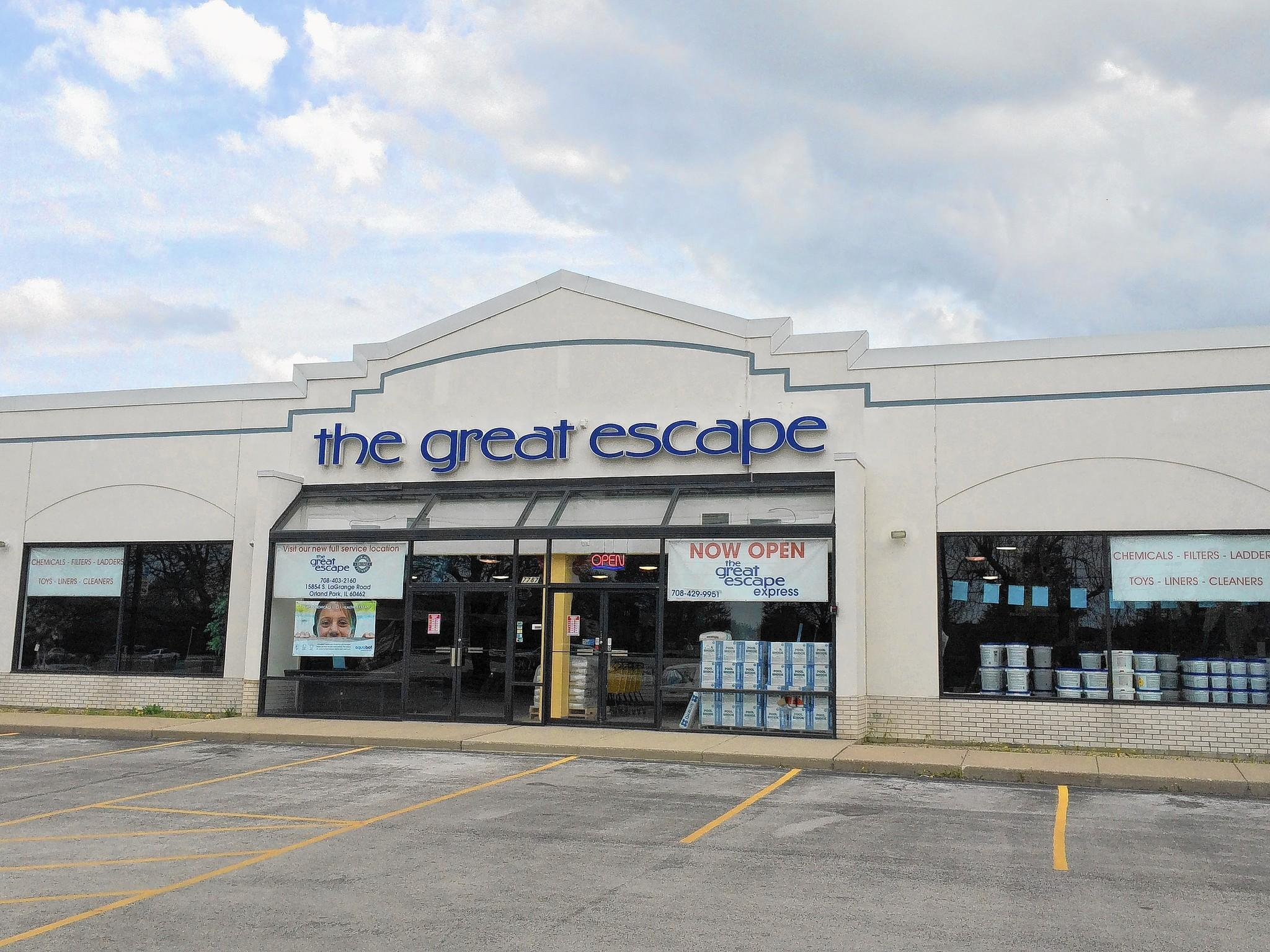 Village officials are seeking a sales tax incentive for The Great Escape to build a new store on La Grange Road.