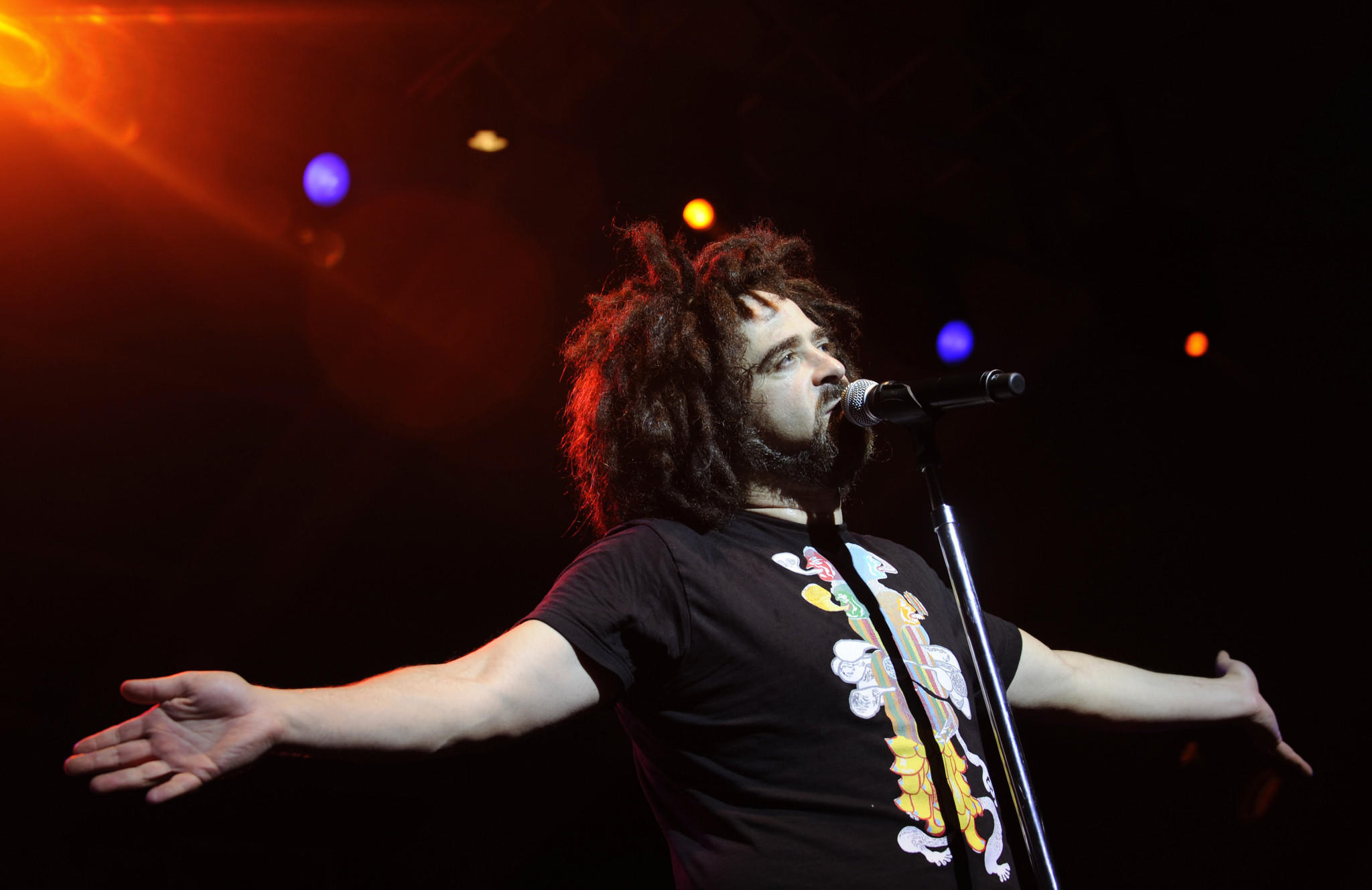 Baltimore native Adam Duritz will return to the area to perform at the Black-Eyed Susan Day concert.