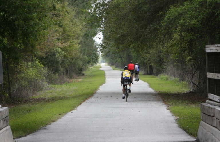General James A. Van Fleet State Trail in Sumter, Lake and Polk counties will be part of the Coast to Coast Connector.
