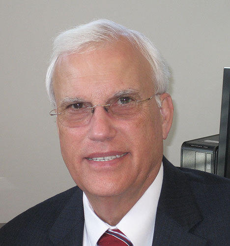 David Woods, former dean of the School of Fine Arts, University of Connecticut.