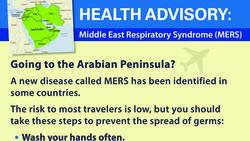 CDC MERS warning