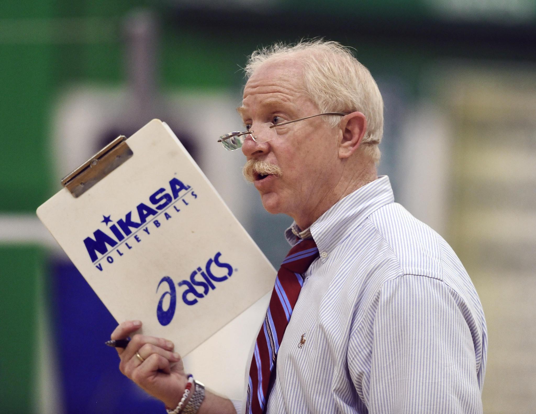 Former Centennial volleyball head coach Larry Schofield.