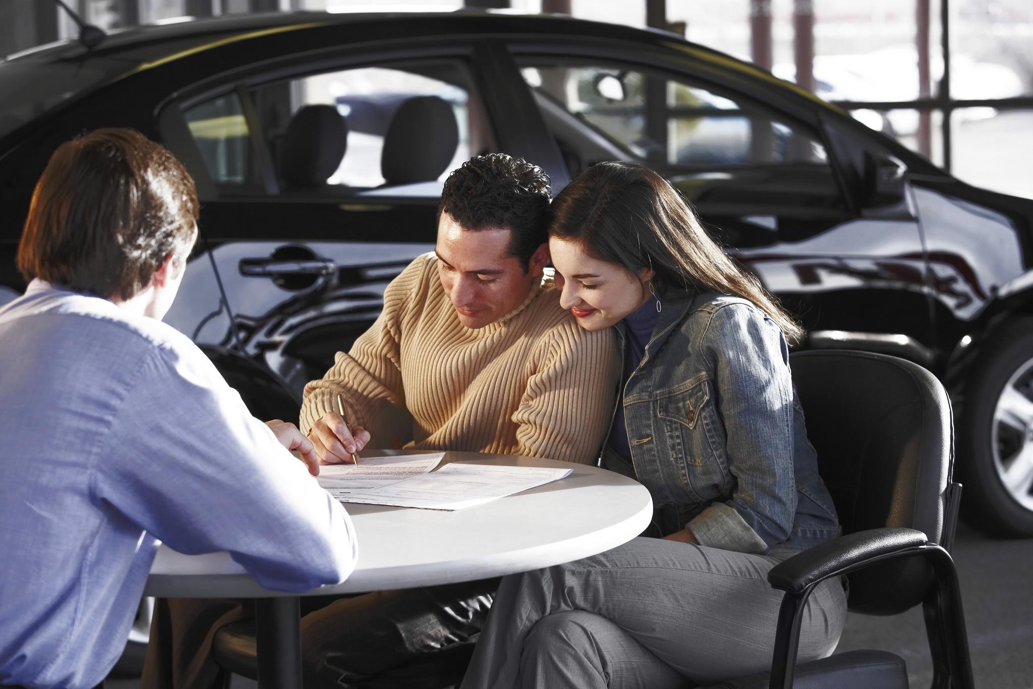 Car buyers upside down on auto loans