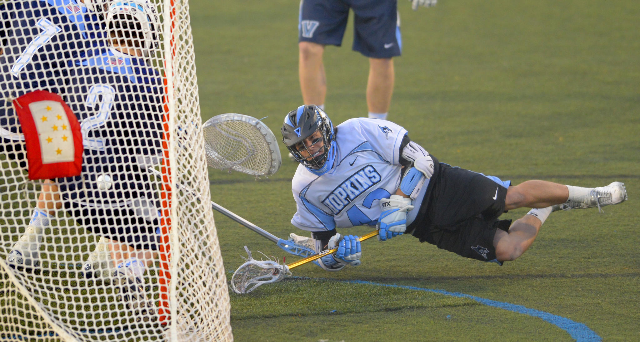 Wells Stanwick's 63 points are the most by a Hopkins player since Dan Denihan had 65 in 2000.