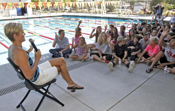 Verdugo Pool Hosts Meningitis Talk With Olympic Medalist Dara Torres Burbank Leader