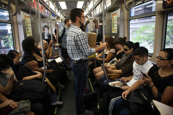 The CTA is surveying more than 83,000 riders about the satisfaction of their commute.