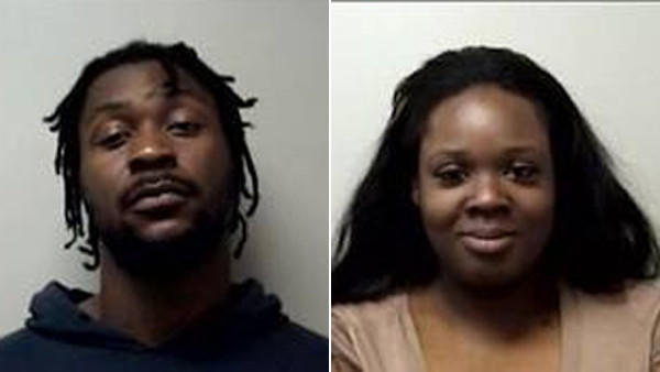 Lambert Walcott, left, and Deborah Bennett, right, were both charged with criminal attempt at sale of heroin and possession with intent to sell.