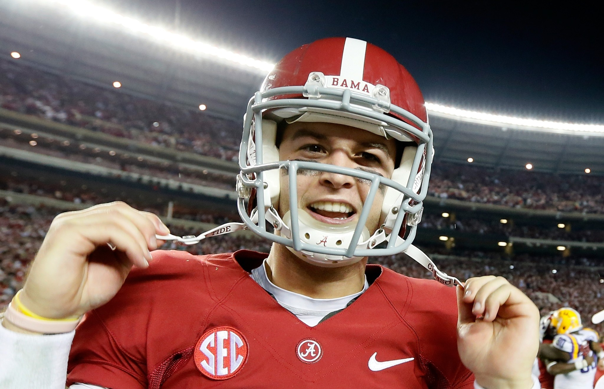 AJ McCarron says he dropped in NFL draft for being 'too honest'