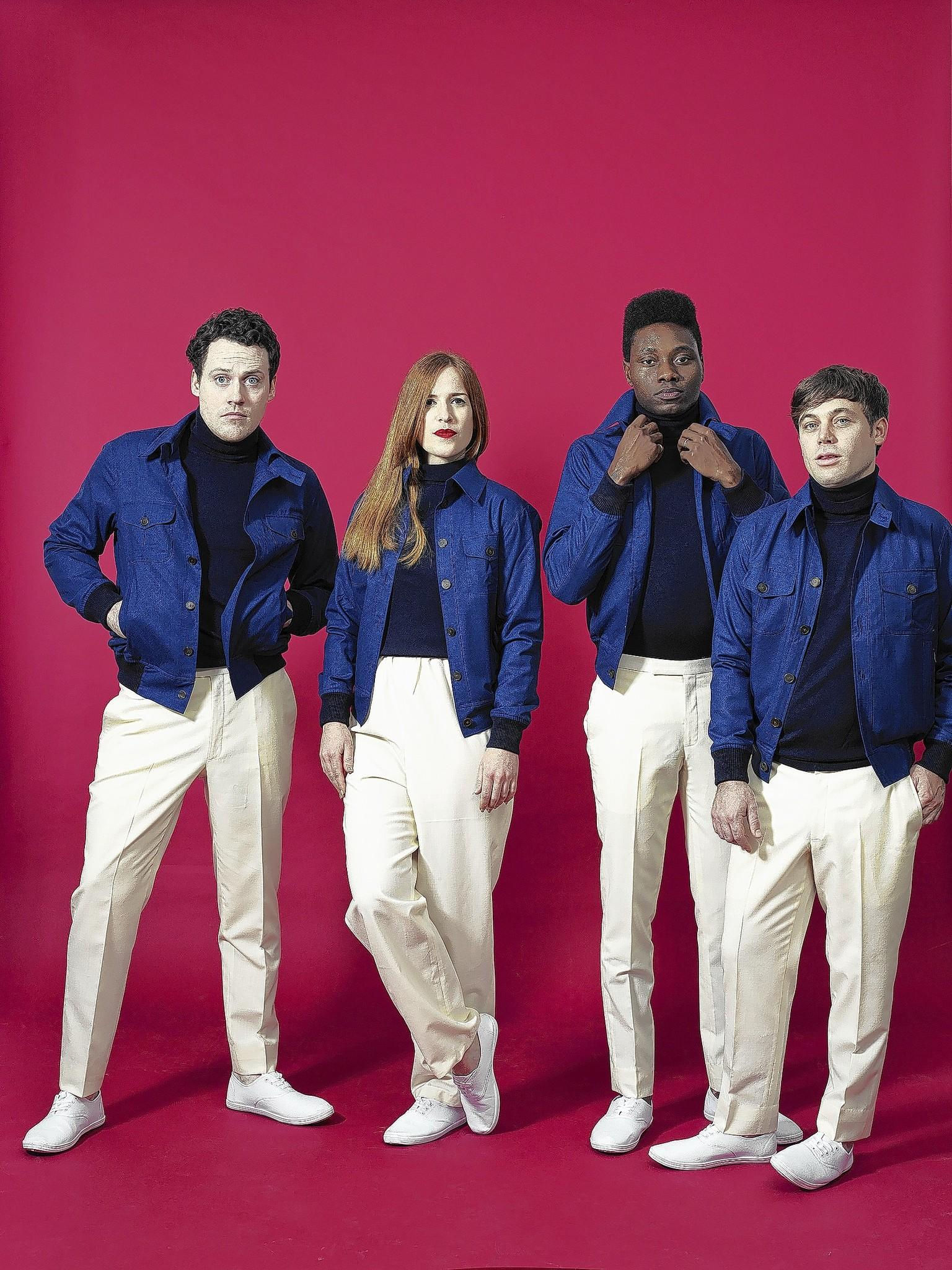 Metronomy is composed of Joseph Mount, from left, Anna Prior, Olugbenga Adelekan and Oscar Cash.