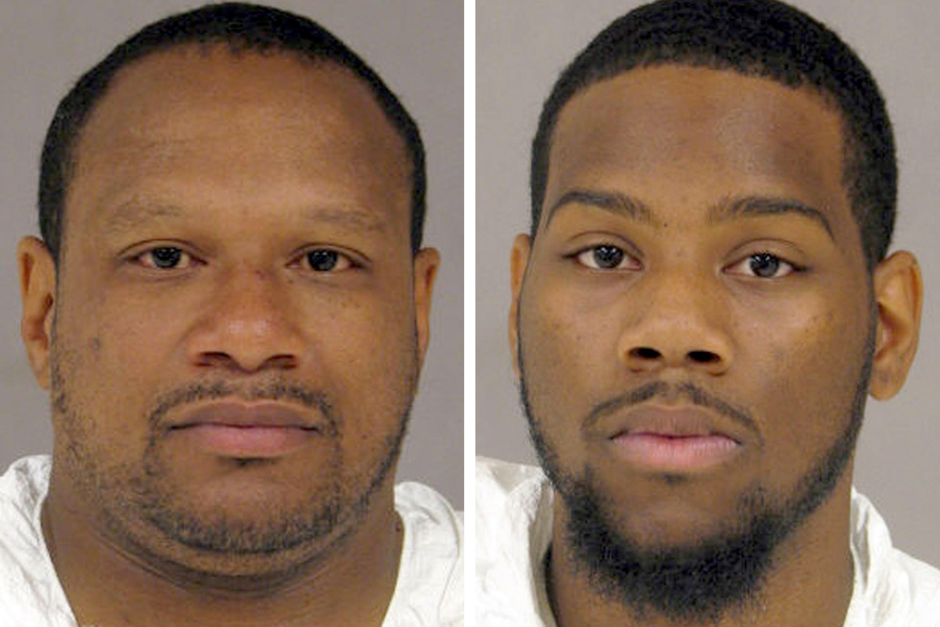 Devin Bickham Sr., left, and Devin Bickham Jr., right, were convicted by separate juries of First Degree Murder for orchestrating a fatal ambush on Chervon Alexander, 29, who was shot and killed as she sat in a car in River Forest the night of July 11, 2011.