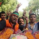 Conservative party wins big in India election