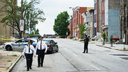 Baltimore police shoot man after stop, witnesses said