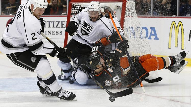 Kings Finish Like Nobody's Business; Ducks Still An Unfinished Product