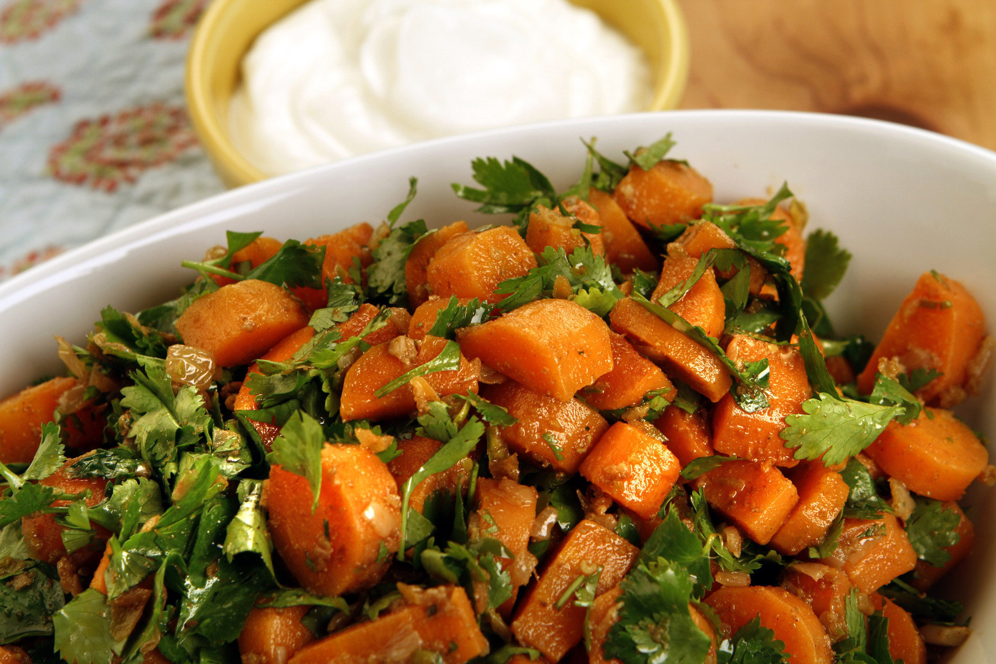 how to cook carrot greens