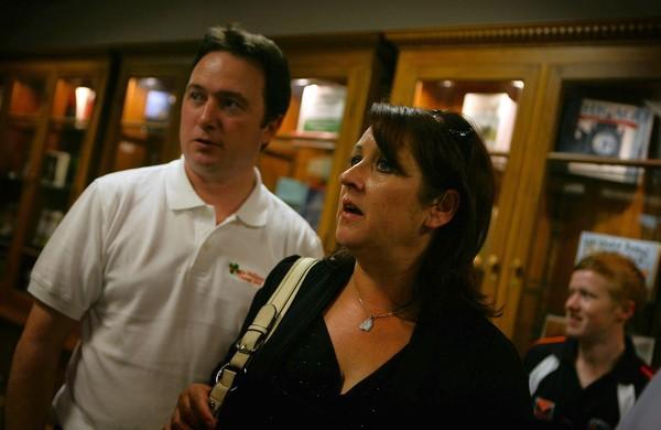 Sheila and Liam McShane, parents of Natasha McShane at their daughter's fundraiser.