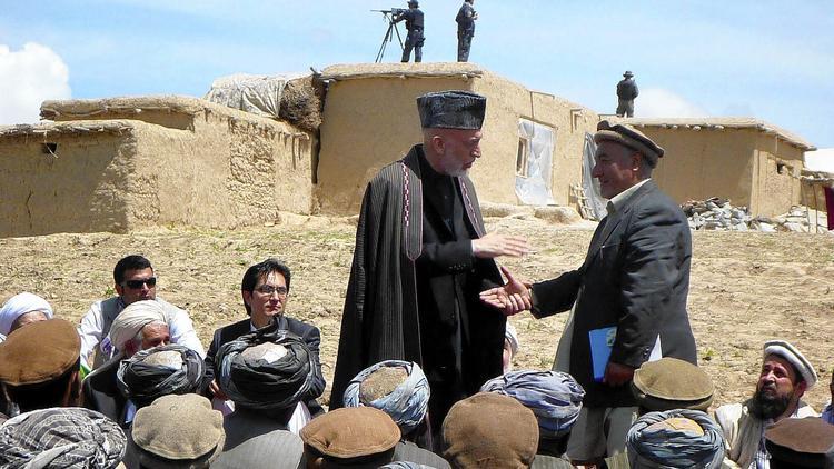 President Karzai in Badakhshan