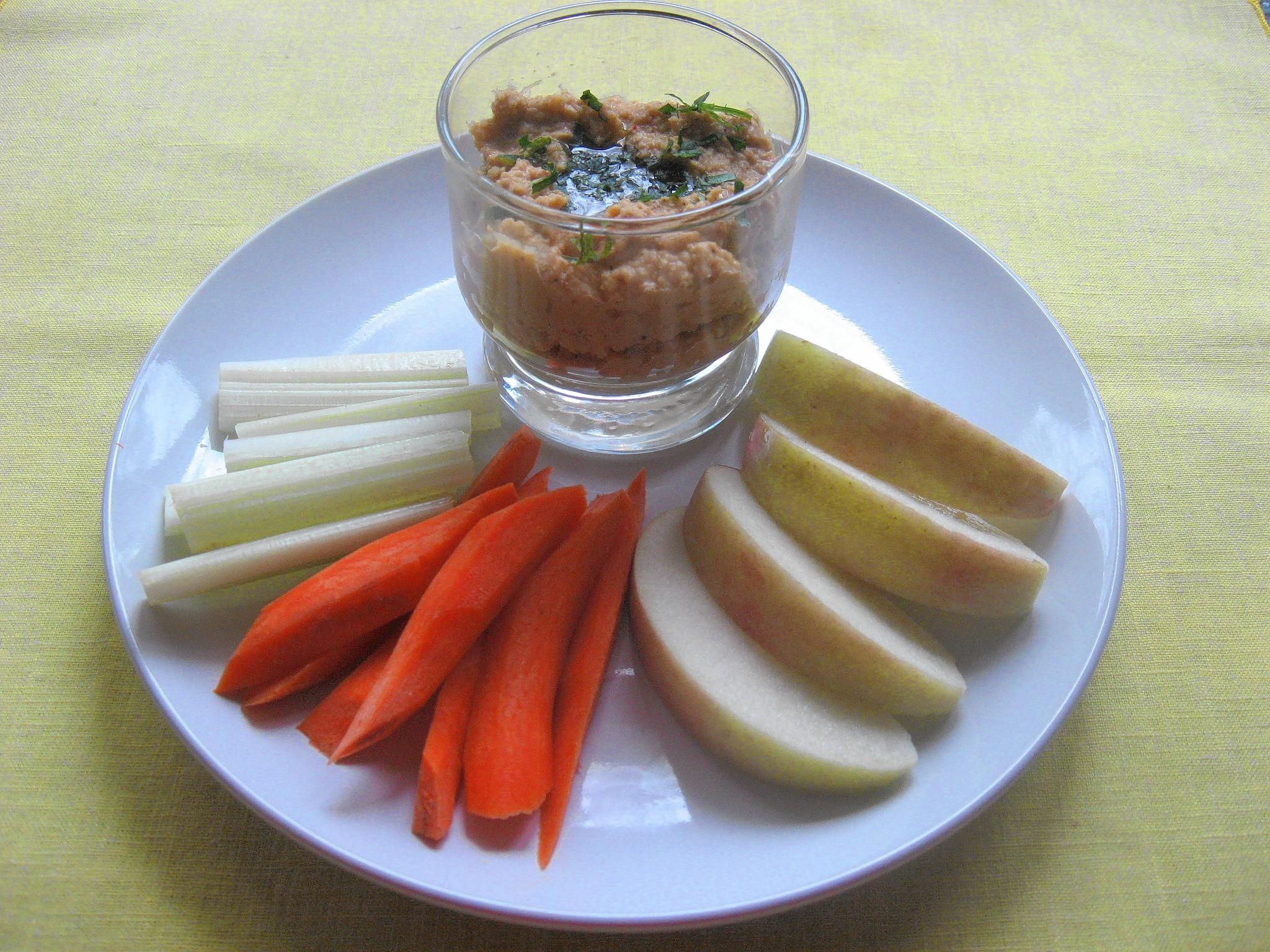 Prepared hummus is now infused with all sorts of flavorings, from lemon juice or roasted red peppers to spice blends, and even peanut butter.