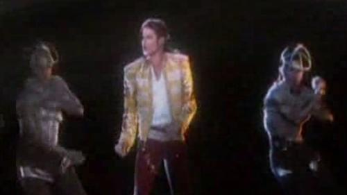 Michael Jackson Hologram Dances