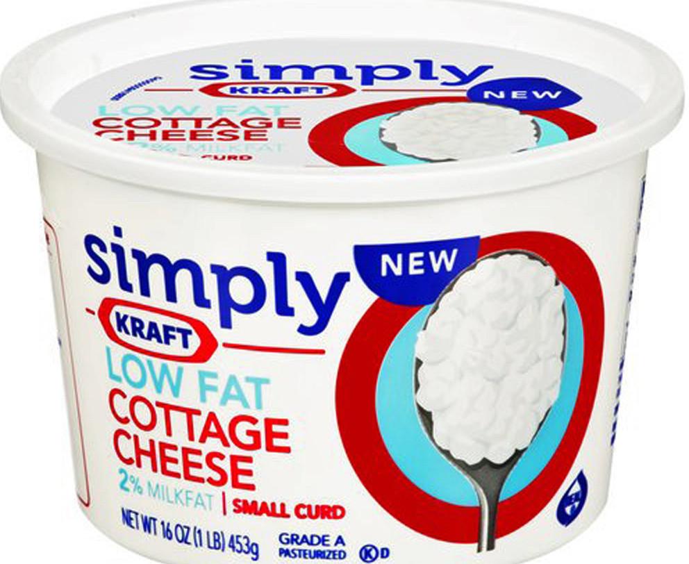 Kraft foods recalls 1 2 million cases of cottage cheese for Cuisine kraft