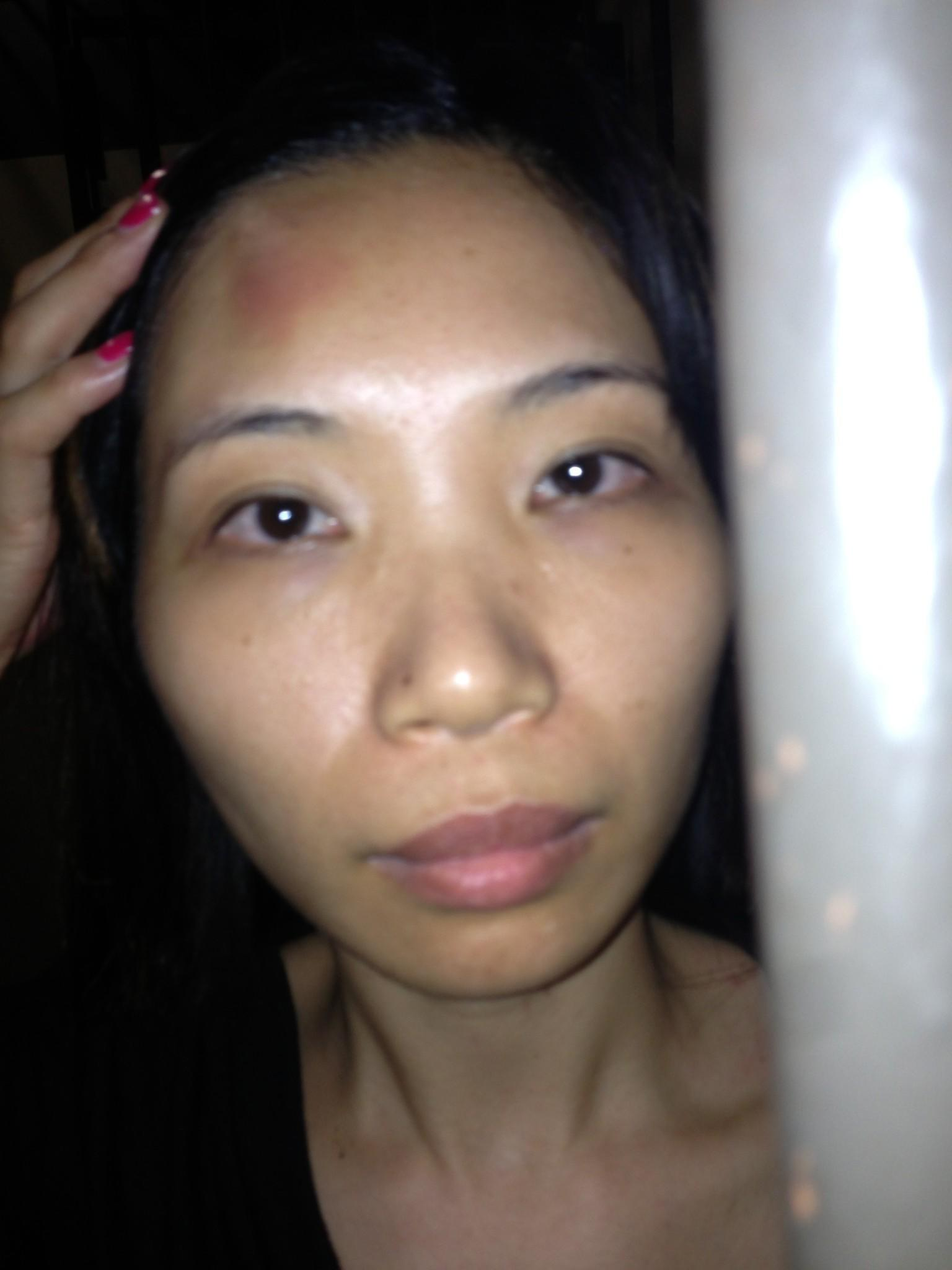 Jianqing Klyzek, 32, the manager of a tanning salon on the Northwest Side  has