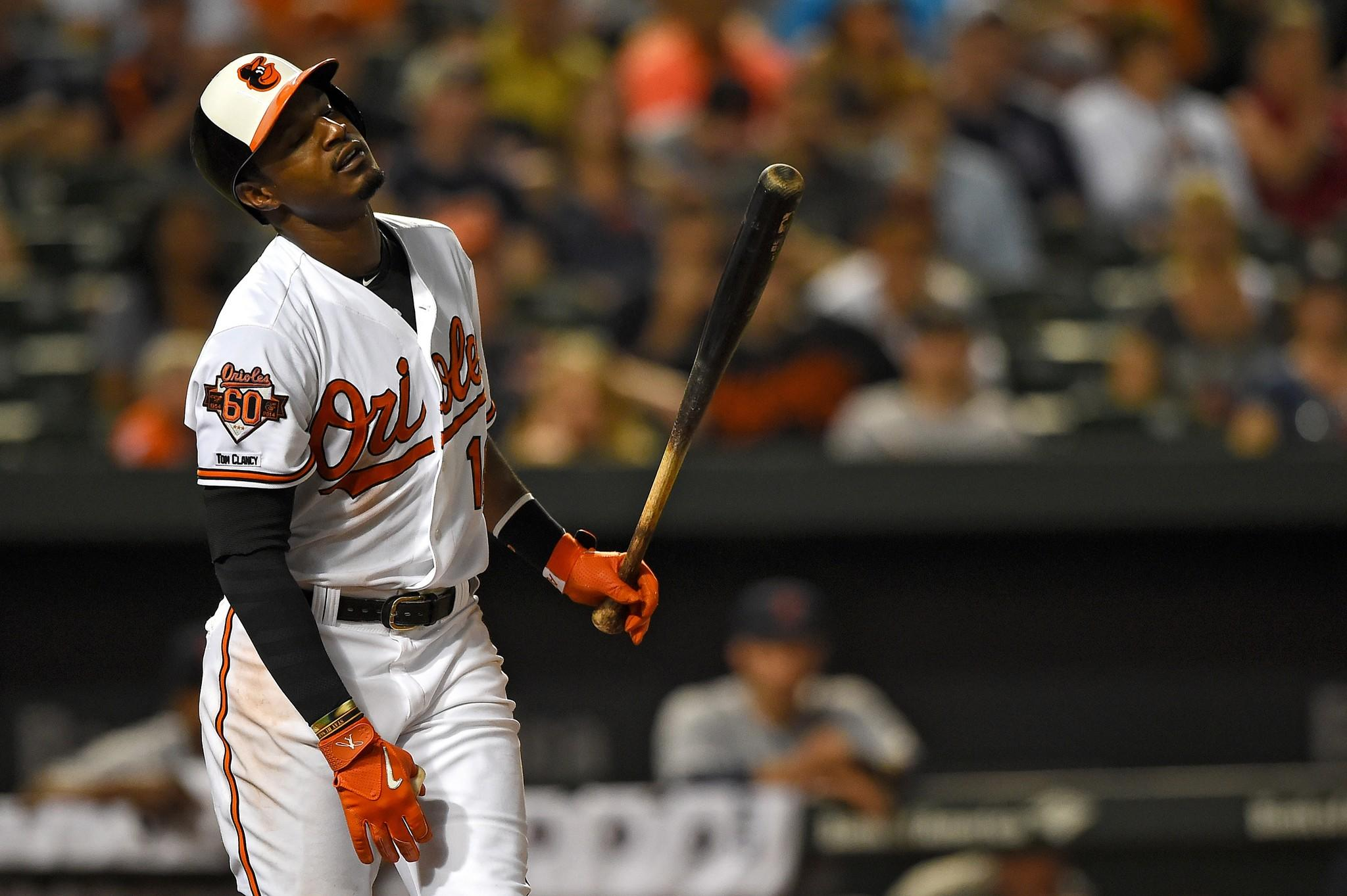 Adam Jones could find himself more pitches to hit if he works a few more walks.