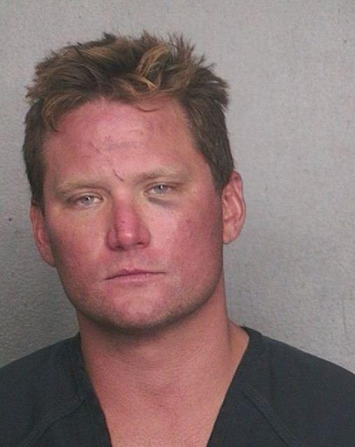 Michael McCauliffe, 37, is accused of exposing himself and assaulting a couple in their 80s while at the beach in Pompano
