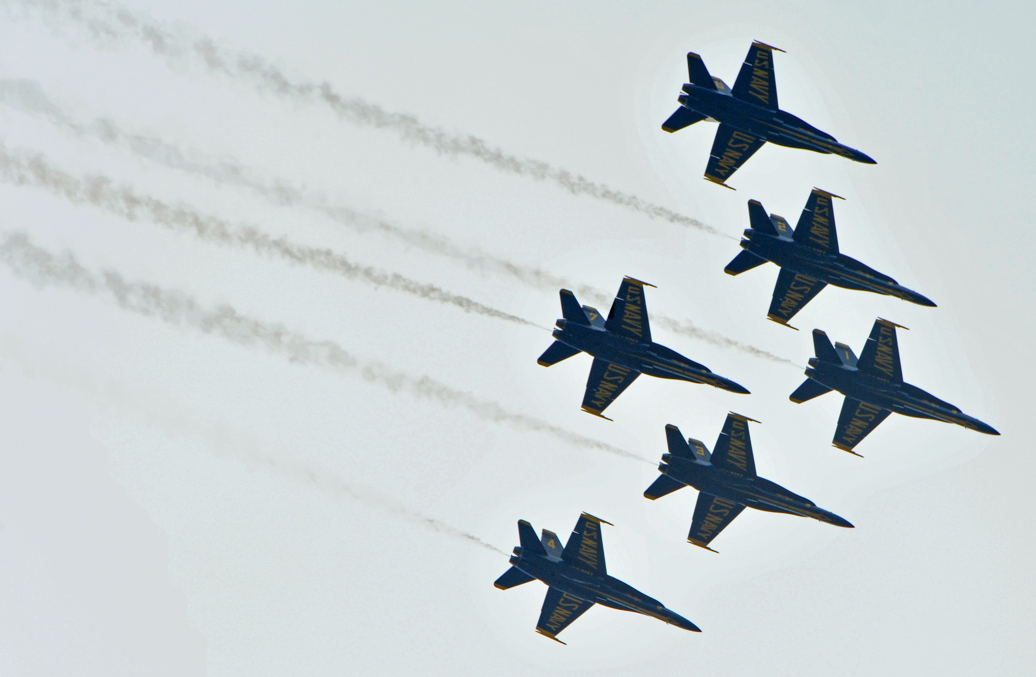 Blue Angels fly by [Pictures] - Blue Angels